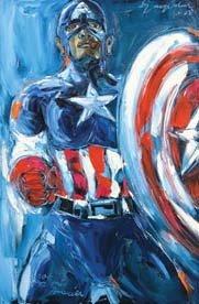 1020: Syajidin SR (Diding, A)  Captain America Super he