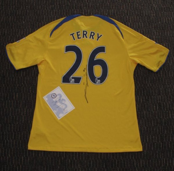 Chelsea Jersey signed by John Terry
