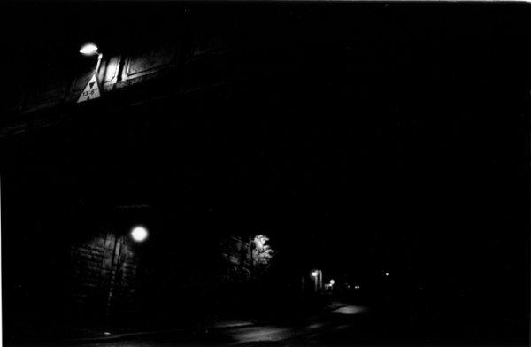 14: Liam Rowe B&W Photo Framed 22x38cm