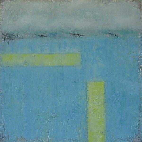 16: Finola Cooney Oil on Canvas 50x50cm