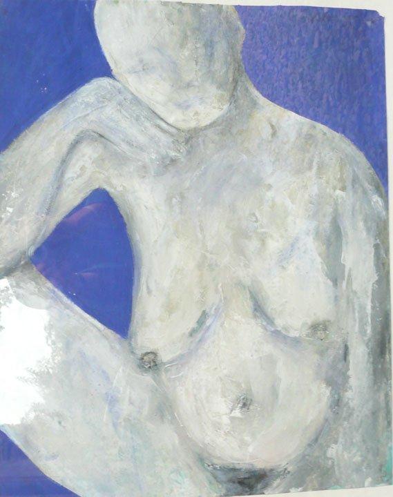 21: Lorraine Bacchus Mixed Media on Paper 80x80cm