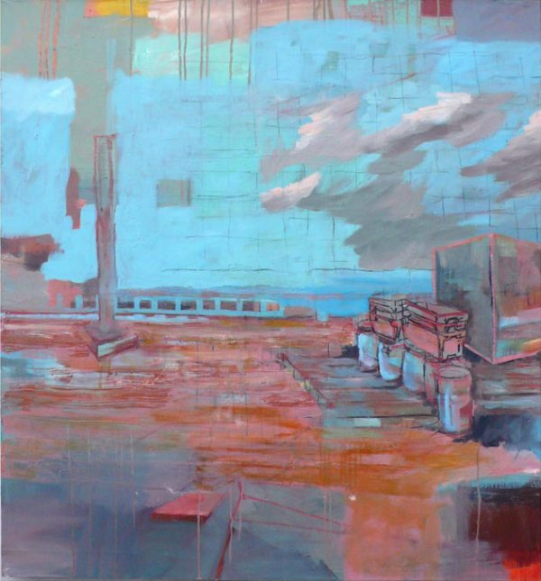 25: Tinka Bechert 1 Oil on Canvas 120x110cm
