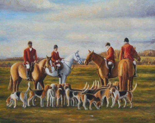 26: Louise Barrett Oil on Canvas 30x40in
