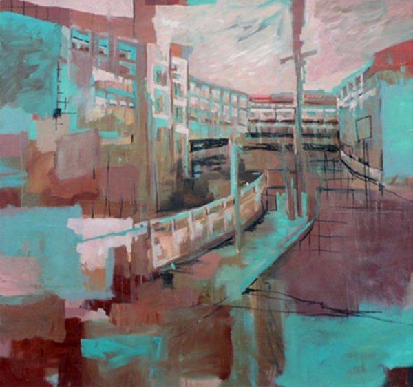 31: Tinka Bechert 2 Oil on Canvas 120x110cm