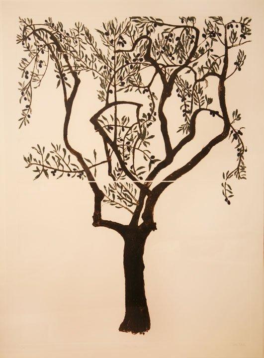 36: Cliona Doyle Carborundum Print 140x100cm