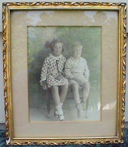 003: Framed Photo of Children- John Rich Family
