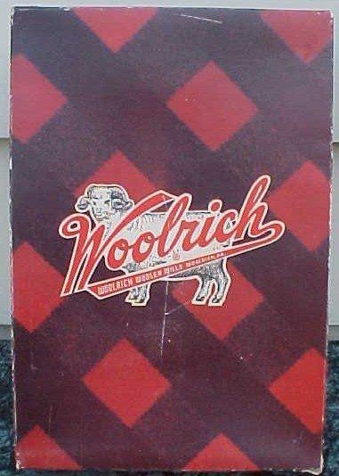 004: Wool Twin Bedspread Woolrich Mills Box