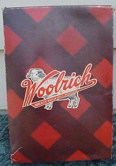 005: Lot of Wool Plaid Fabric Woolrich Mills