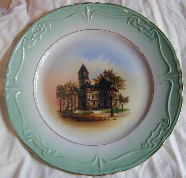 015: Williamsport, PA. City Hall Plate - Dresden