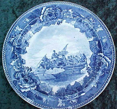 019: Wedgewood Plate Washington Crossing Delaware