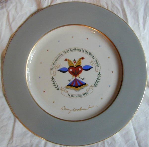 024: President Eisenhower Commemorative Plate