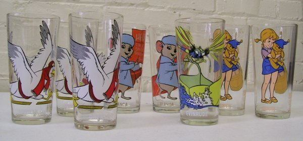 008: 1977 The Rescuers Down Under Collector Glasses