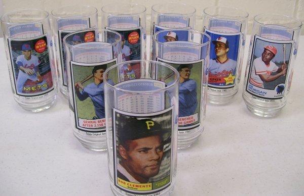 009: 1993 McDonald's Baseball Collector Glasses Topps