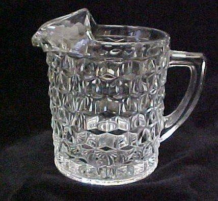 022: American Fostoria Water Pitcher w/Ice Lip