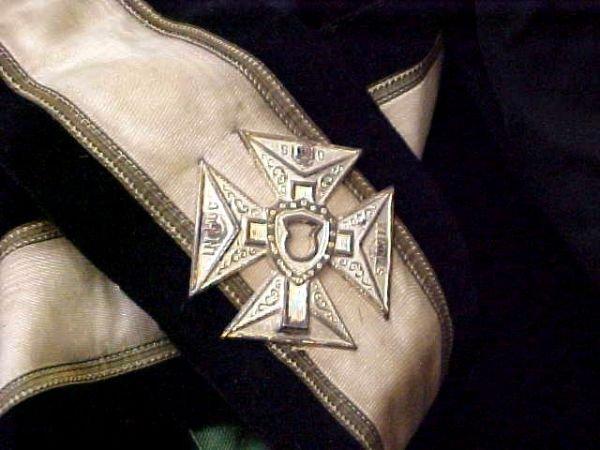 236: Masonic Knights Templar Uniform Hats Lit Lot - 5