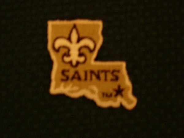 1008: 150 New Orleans Saints Embroidered Patches
