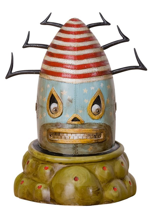 """12: GERMS - 10"""" Conehead Resin (Paint Master) - Generou"""