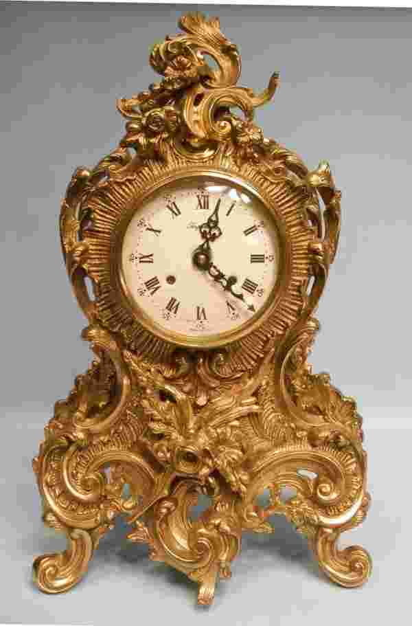 Italian Quot Imperial Quot Rococo Style Mantle Clock