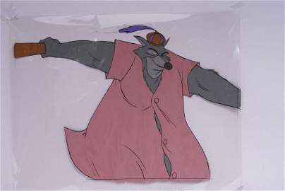 Original 1973 Walt Disney Movie Film Cel, The Sheriff o