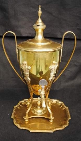 Regency Brass Hot Water Urn