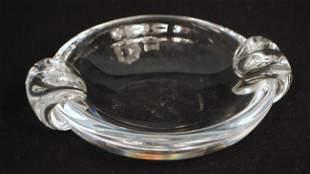 Steuben Art Glass Cigar Tray