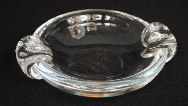 Steuben Art Glass Cigar Tray