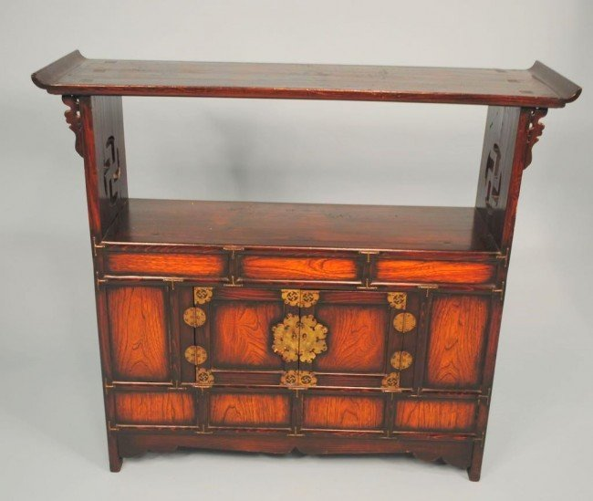Korean influence Japanese Altar Cabinet