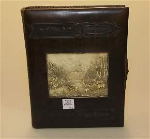 19th Century Leather Box