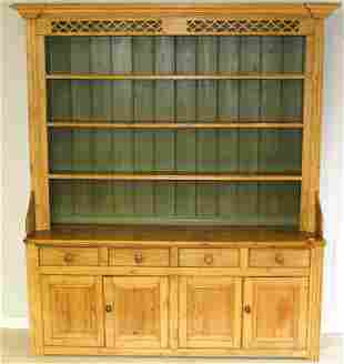 Antique Pine Hutch/ Welsh Dresser
