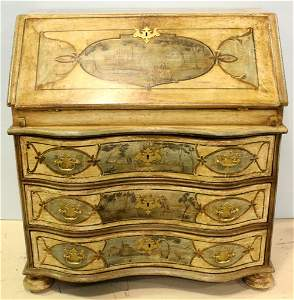 18th Century French Fall Front Desk