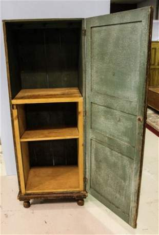Primitive False Grain Cabinet