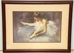 Giclee Print of Ballerina