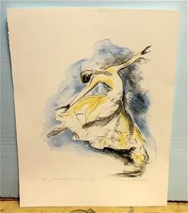 "Artist Proof Print, Judith Jamison ""Cry"" Print Signed"