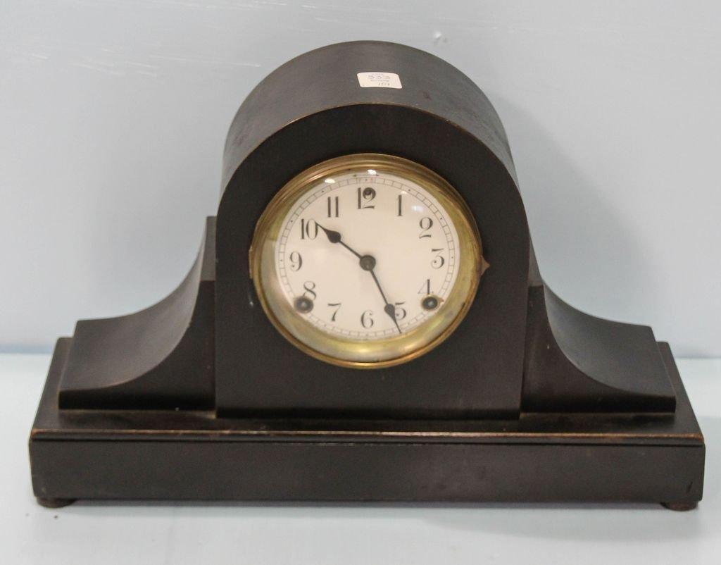 Ebonized Mantel Clock