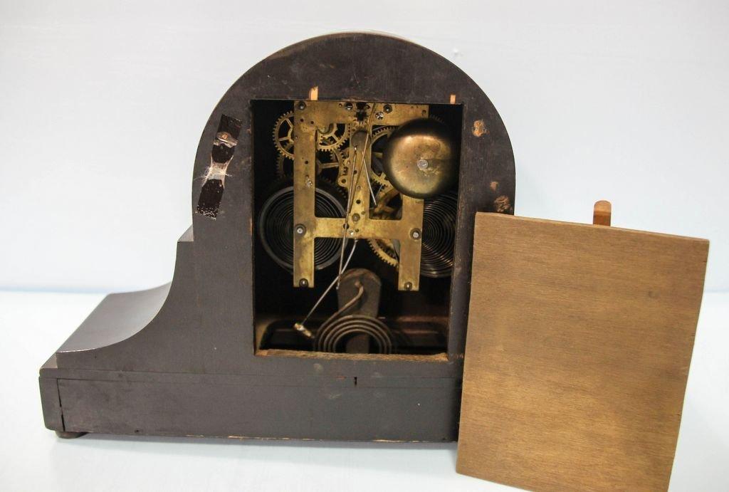 Ebonized Mantel Clock - 2