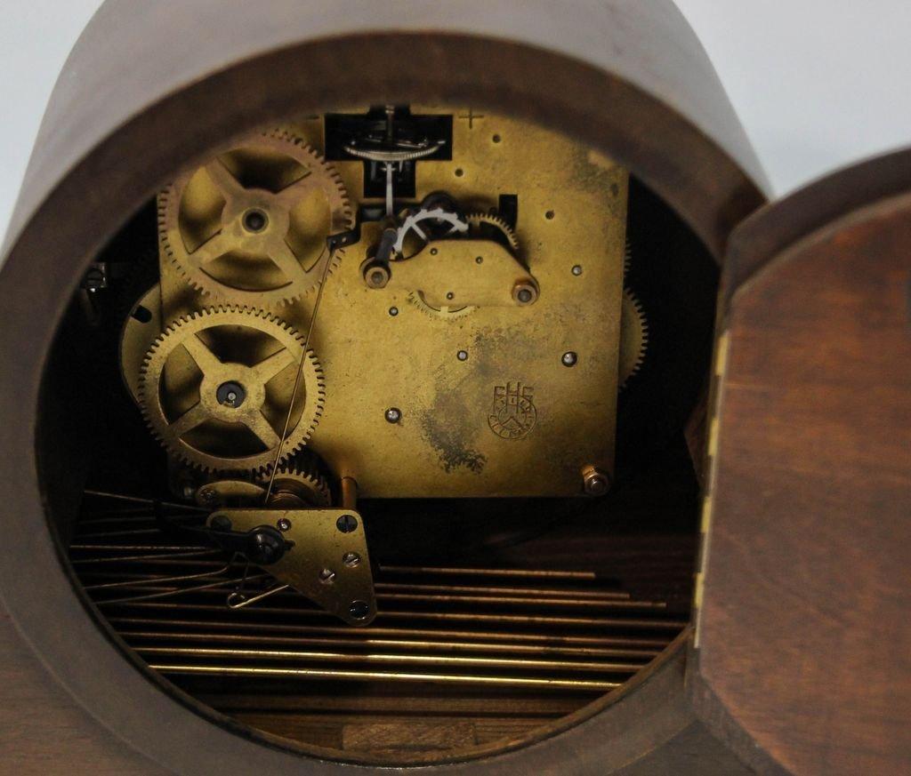 Ebonized Mantel Clock - 4