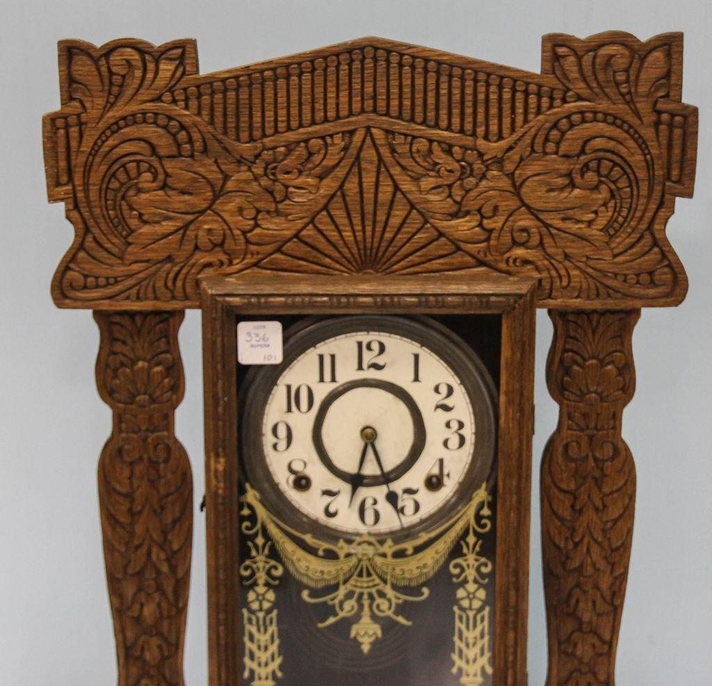 Oak Kitchen Clock - 2