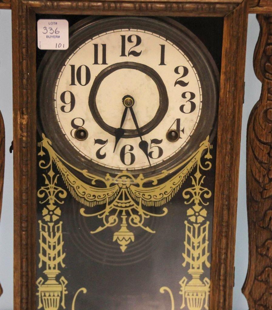 Oak Kitchen Clock - 3
