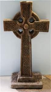 Celtic Cement Cross