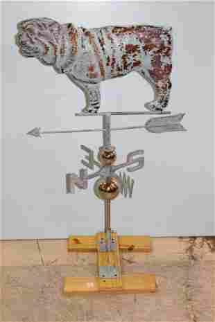 New Copper Bulldog Weathervane