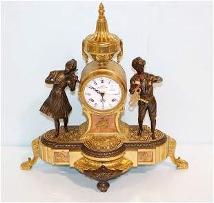 Figurial Clock Made in Italy