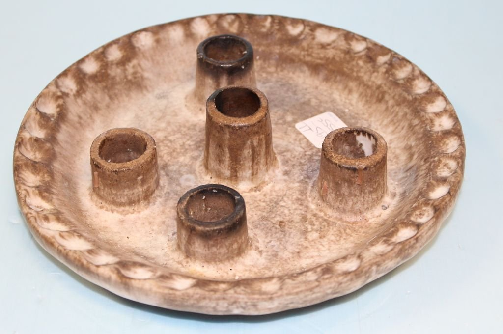 McCarty Pottery Candlestick