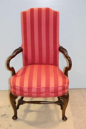 Mahogany Queen Anne Arm Chair