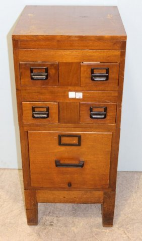 Globe Wernicke Stacking Index And File Cabinet