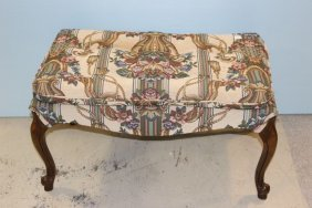 Queen Anne Upholstered Bench