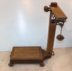 Fairbanks Patent No. 11 Scale