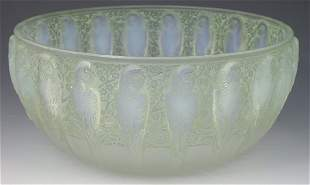 'Perracles', a Lalique clear frosted and opalescent