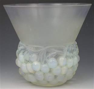 'Cerises', a Lalique clear, frosted and opalescent
