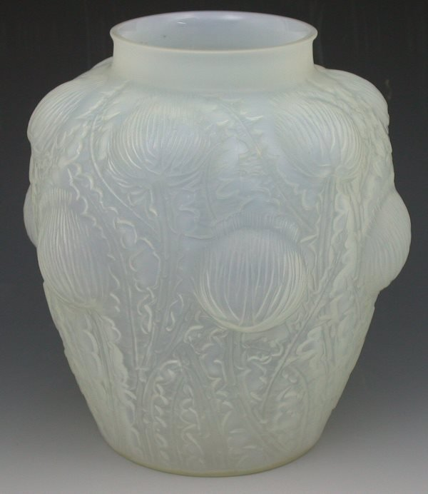 21: 'Domremy', a Lalique frosted and opalescent glass v
