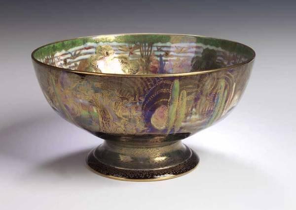 136: A Wedgwood 'Fairyland Lustre' footed bowl, designe